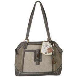 B.O.C. Denville Dome Satchel Charging Handbag