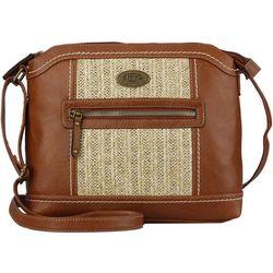 B.O.C. Calverton Straw Crossbody Handbag
