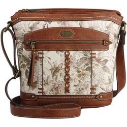 Waldwood Floral Print Crossbody Handbag