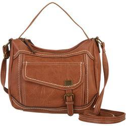 Amherst Contrast Stitched Crossbody Handbag