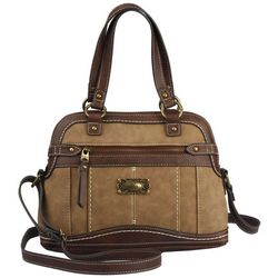 B.O.C. Gorham Dome Satchel Charging Handbag