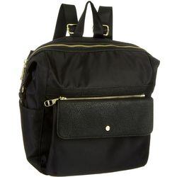 Madden Girl Solid Convertible Nylon Backpack