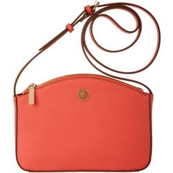 Anne Klein Hot Coral Crossbody Handbag