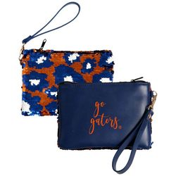 Florida Gators Claire Sequin Wristlet By DESDEN