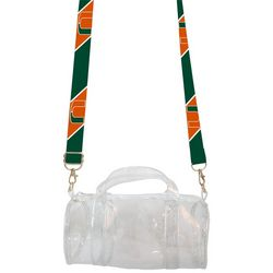 Miami Hurricanes Kay Kay Mini Duffel Handbag By DESDEN