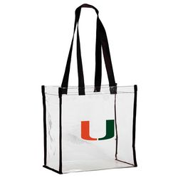 Miami Hurricanes Clear Stadium Tote by DESDEN