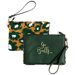 USF Bulls Claire Sequin Wristlet By DESDEN
