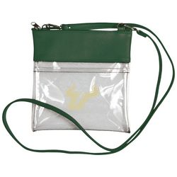 USF Bulls Clear Gameday Crossbody Handbag By DESDEN