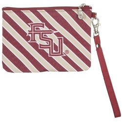 Florida State Striped Gameday Wristlet By DESDEN