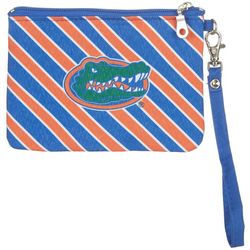 Florida Gators Striped Gameday Wristlet By DESDEN