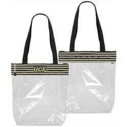 DESDEN UCF Knights Striped Stadium Tote Handbag