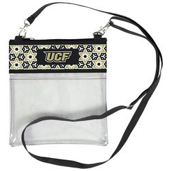UCF Knights Floral Clear Crossbody Handbag By Desden