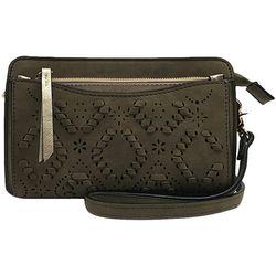 Violet Ray Wallet On A String Crossbody Handbag