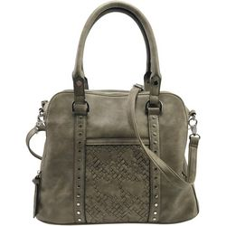 Violet Ray Logan Dome Satchel Handbag