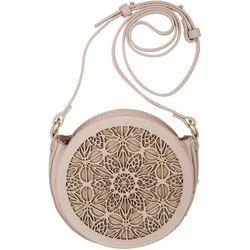 Abbie & Emmie Blush Pebble Handbag