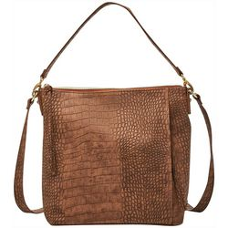 Relic Colby Crocodile Texture Crossbody Handbag
