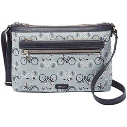 RELIC by Fossil Evie East West Bicycle Crossbody Handbag