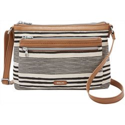 RELIC by Fossil Striped Evie East West Crossbody Handbag