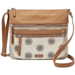 RELIC by Fossil Riley Printed Crossbody Handbag