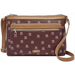 RELIC by Fossil Evie East West Owl Print Crossbody Handbag