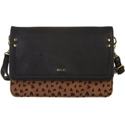 RELIC by Fossil Charley Leopard Multi Way Handbag