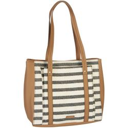 RELIC by Fossil Bailey Striped Shoulder Tote Handbag