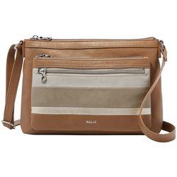 Relic Evie Striped East West Crossbody Handbag