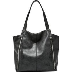 Relic Brooke Solid Black Tote Handbag