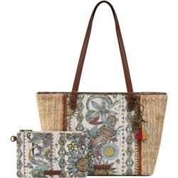 Sunshine Spirit Desert Meadow Tote Handbag
