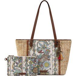 Sakroots Sunshine Spirit Desert Meadow Tote Handbag