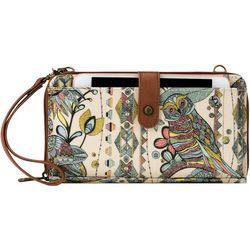 Sakroots Large Sunshine Spirit Desert Crossbody Handbag