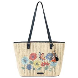 Sakroots Straw Meadow Tote
