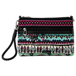 Sakroots Campus Mini Spotted Wildberry Convertible Handbag