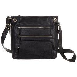 Bueno Rustego Triple Zip Crossbody Handbag