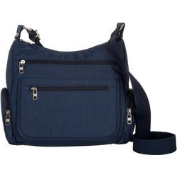 Bueno Solid Organizer Crossbody Handbag