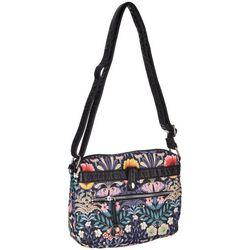 Bueno Grainy Wash Floral Crossbody Handbag