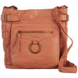 Bueno Pocket Ring Crossbody Handbag
