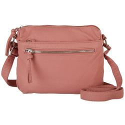 Multi Compartment Crossbody Handbag
