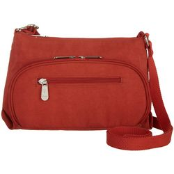 Mondo Nylon Zippered Crossbody Handbag