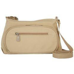 Mondo Nylon Zippered Crossbody Handbag
