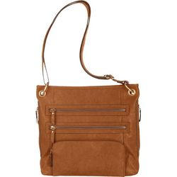 Bueno Triple Zip Crossbody Handbag