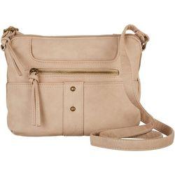 Bueno Solid Vintage Wash Crossbody Handbag