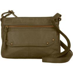 Bueno Elephant Washed Texture Crossbody Handbag
