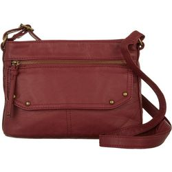 Bueno Elephant Washed Texture Crossbody Handbag