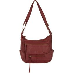 Bueno Front Flap Pocket Crossbody Handbag