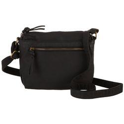 Bueno Solid Elephant Wash Crossbody Handbag