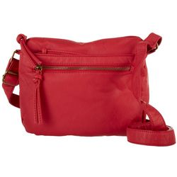 Bueno Solid Elephant Wash Crossbody Handbag