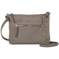 Bueno Grainy  Zip Crossbody Handbag