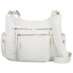 Bueno Grain Wash Solid Shoulder Handbag