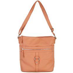 Bueno Multi Zipper Crossbody Handbag